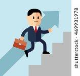 go up concept  career ladder ...   Shutterstock .eps vector #469931978