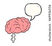 freehand drawn speech bubble... | Shutterstock . vector #469936556