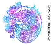 the outline vector illustration ... | Shutterstock .eps vector #469972604
