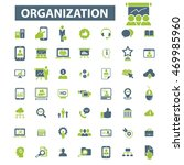 organization icons | Shutterstock .eps vector #469985960