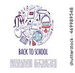 hand drawn vector illustration... | Shutterstock .eps vector #469989548
