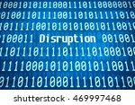 binary code with the word... | Shutterstock . vector #469997468