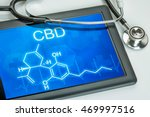 tablet with the chemical... | Shutterstock . vector #469997516