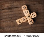 wooden dices with the words... | Shutterstock . vector #470001029