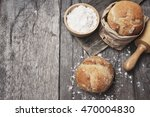 crusty bread | Shutterstock . vector #470004830
