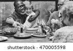 group of senior retirement... | Shutterstock . vector #470005598