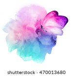 Beautiful Watercolor Flower...