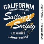 california surf typography  t... | Shutterstock .eps vector #470023250