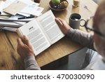 coffee break reading travel... | Shutterstock . vector #470030090