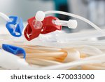 bloodline tubes of hemodialysis ... | Shutterstock . vector #470033000