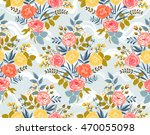 vector seamless pattern with... | Shutterstock .eps vector #470055098