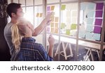 young creative business people... | Shutterstock . vector #470070800