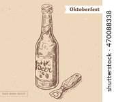 linear sketch in vintage style...   Shutterstock .eps vector #470088338