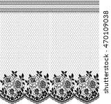 seamless lace pattern  flower... | Shutterstock .eps vector #470109038