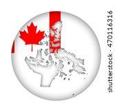 canada state of nunavut map... | Shutterstock . vector #470116316