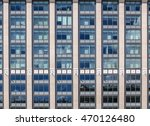 windows facade of a typical... | Shutterstock . vector #470126480