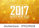 greeting card happy new year... | Shutterstock . vector #470129618