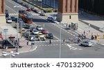Barcelona Traffic  Cars  Buses...