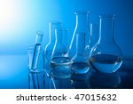 chemical laboratory equipment | Shutterstock . vector #47015632