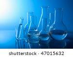 chemical laboratory equipment | Shutterstock . vector #47015632
