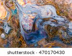 surreal pattern of corrosion on ... | Shutterstock . vector #470170430