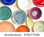different antique vintage... | Shutterstock . vector #470177150