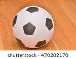 soccer ball icon flat 3d vector ...