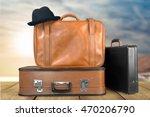 suitcase. | Shutterstock . vector #470206790