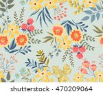 vector seamless pattern with... | Shutterstock .eps vector #470209064