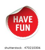 red vector sticker and text... | Shutterstock .eps vector #470210306