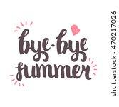 vector hand drawn lettering.... | Shutterstock .eps vector #470217026