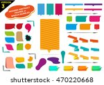 colorful frames version 3 with... | Shutterstock .eps vector #470220668
