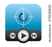 media player control panel icon ...