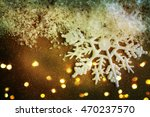 winter background. snowflakes... | Shutterstock . vector #470237570