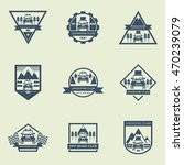 sets of off road car logo ... | Shutterstock .eps vector #470239079