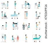 nurse health care decorative... | Shutterstock .eps vector #470269916