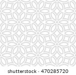 seamless abstract floral... | Shutterstock . vector #470285720