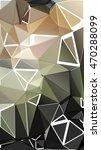 randomly scattered triangles of ... | Shutterstock .eps vector #470288099