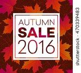 Autumn Seasonal Banner Design....