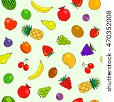 fruits | Shutterstock .eps vector #470352008
