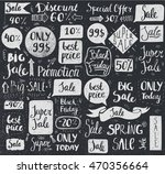 vector set of hand drawn doodle ... | Shutterstock .eps vector #470356664