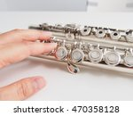 flute and hand | Shutterstock . vector #470358128