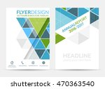 business flyer template ... | Shutterstock .eps vector #470363540