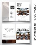 set of business templates for... | Shutterstock .eps vector #470379260