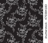 vector seamless pattern ... | Shutterstock .eps vector #470384183