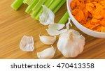 Fresh Healthy Garlic  Sliced...