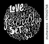 vintage font for  black... | Shutterstock . vector #470420768