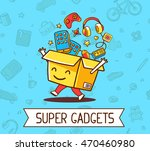 vector illustration of colorful ... | Shutterstock .eps vector #470460980