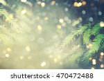 abstract christmas lights on... | Shutterstock . vector #470472488