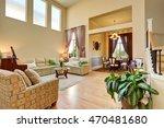 open floor plan. cozy living... | Shutterstock . vector #470481680